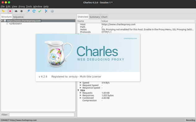 Charles Crack 4.6.2.7 + Enjoy Unlimited Proxy Download [Latest] 2021